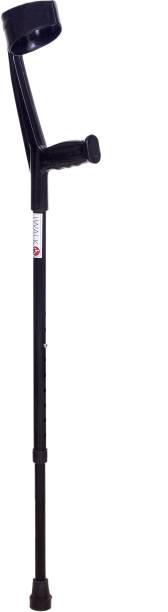 IWALK Elbow Crutch/Stick - Midnight Black Walking Stick