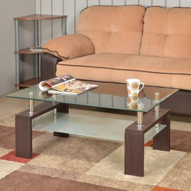 Nilkamal Luna Glass Coffee Table