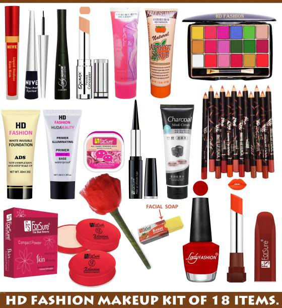 HD Fashion Bridal Makeup Kit of all the Vanity Products