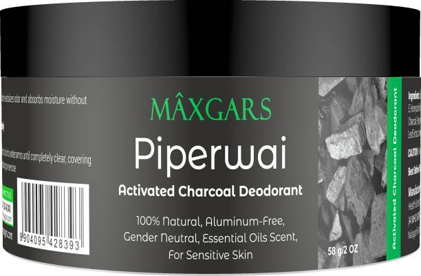Maxgars Piperwai Deodorant Cream  -  For Men & Women