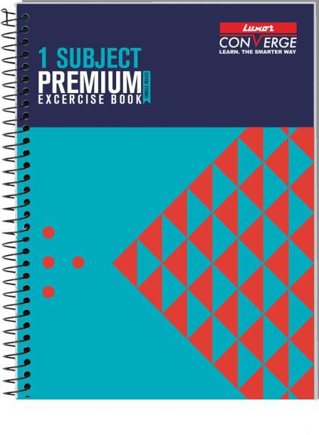 LUXOR Exercise Notebook-pyramid B5 Notebook Ruled 180 Pages