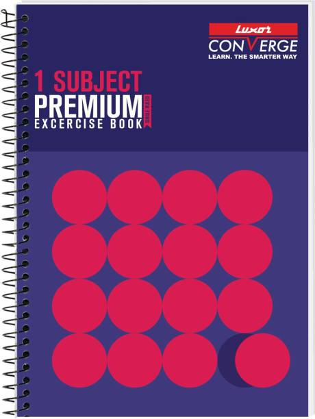 LUXOR Exercise Notebook-Standout A4 Notebook Ruled 160 Pages