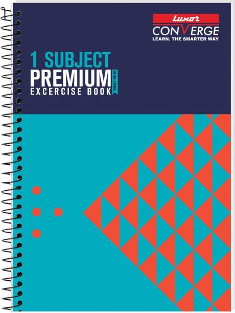 LUXOR Exercise Notebook-pyramid A4 Notebook Ruled 160 Pages