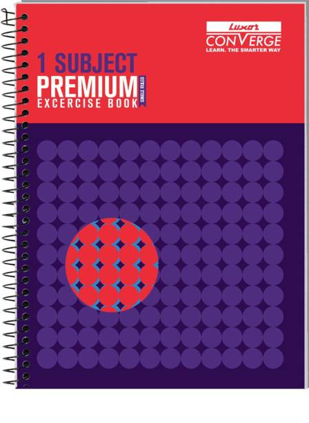 LUXOR Exercise Notebook-Focus A4 Notebook Ruled 160 Pages