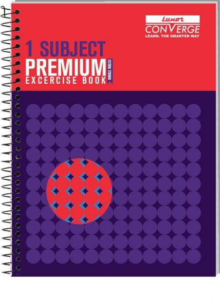 LUXOR Exercise Notebook-Focus B5 Notebook Ruled 180 Pages
