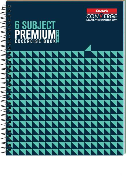 LUXOR Exercise Notebook-Seamless A4 Notebook Ruled 300 Pages