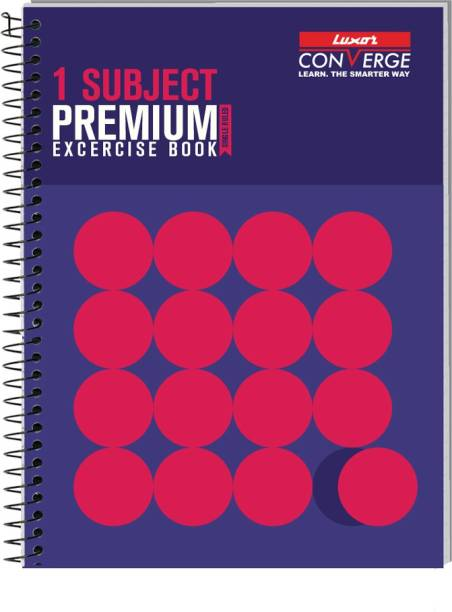 LUXOR Exercise Notebook-Standout B5 Notebook Ruled 180 Pages
