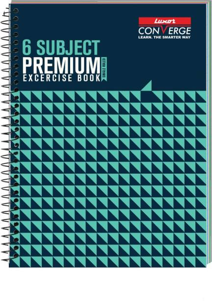 LUXOR Exercise Notebook-Seamless B5 Notebook Ruled 300 Pages