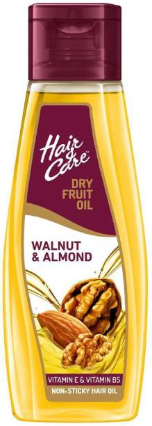 HAIR & CARE Dry Fruit Oil with Walnut & Almond, (Non-Sticky Hair Oil) Hair Oil