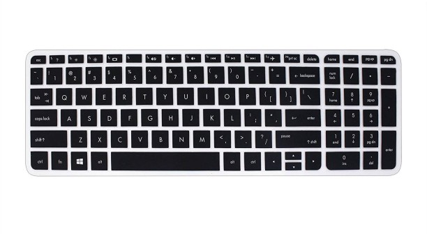Transparent Saco Chiclet Keyboard Skin for HP Envy 14 Spectre Ultrabook