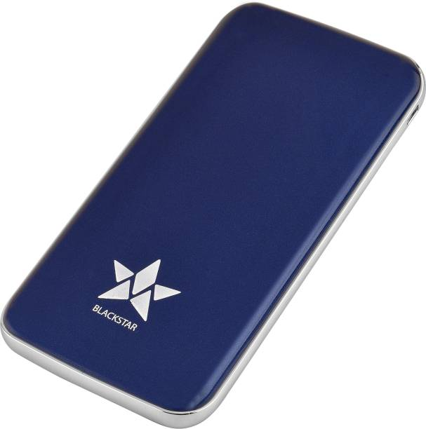 BLACKSTAR 10000 mAh Power Bank (20 W, Quick Charge 3.0, Fast Charging, Power Delivery 2.0)