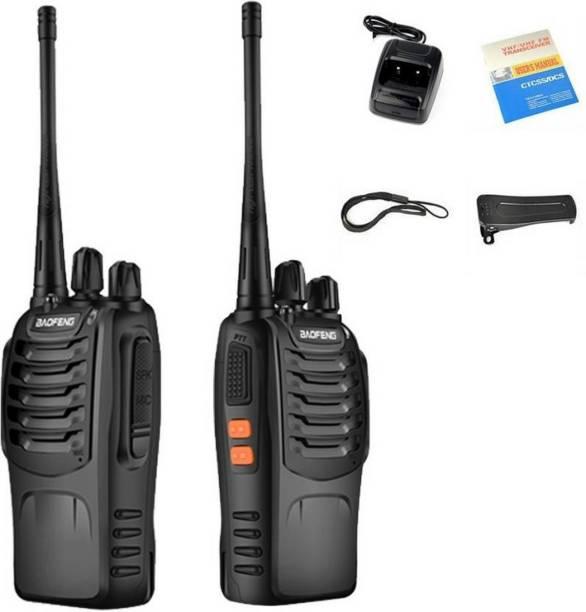 Baofeng BF-888S UHF Two Way Handheld Interphone Walkie Talkie