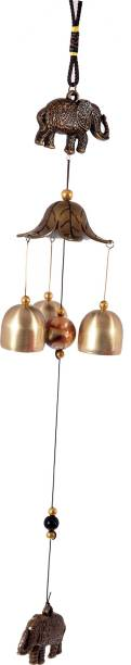 smile4ever Wind chim for wall hanging Brass Windchime