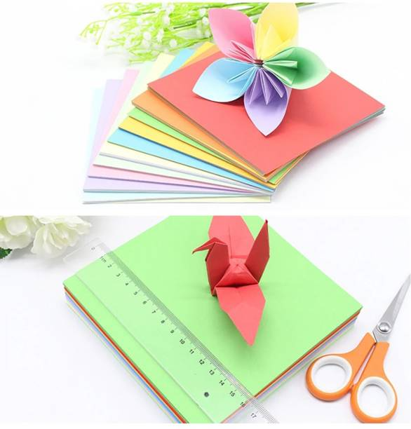 OFIXO ColourSheets_100Pcs_Set 15 cm Acrylic Sheet