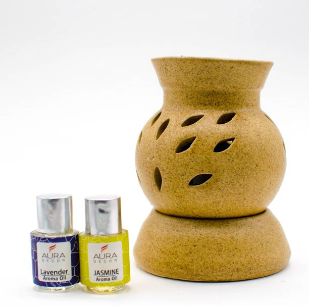 AuraDecor Lavender, Jasmine Diffuser Set