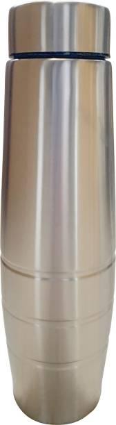 Flipkart SmartBuy Steel Curvy 1000 ml Bottle