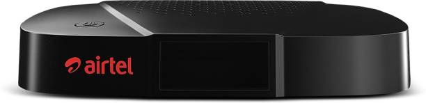 Airtel Digital TV Multi TV HD Set Top Box (For existing Airtel DTH Users Only) 1 month Value Lite Pack
