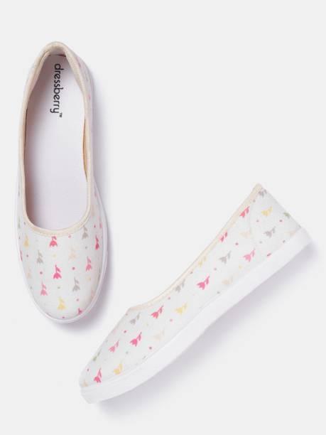 Dressberry Canvas Shoes For Women