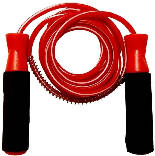 SPORTLAND Rope-Red Freestyle Skipping Rope