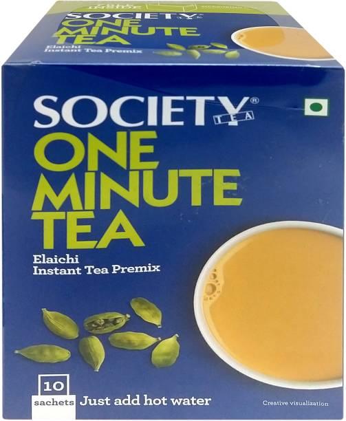 Society One Minute Elaichi Instant Tea Box