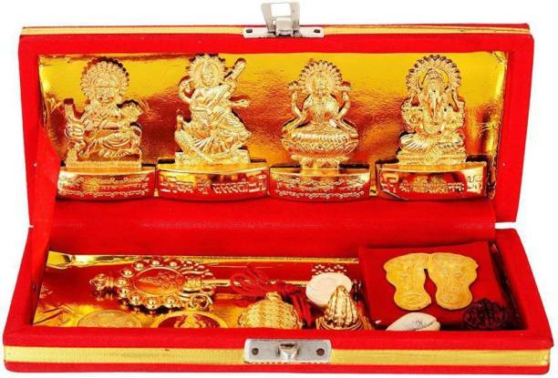 shiv mart Shri Dhan Laxmi- Kuber Bhandari Yantra Brass Yantra Brass Yantra