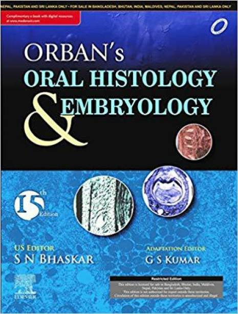 Orban's Oral Histology and Embryology, 15e with Atlas of Oral Histology, 2e