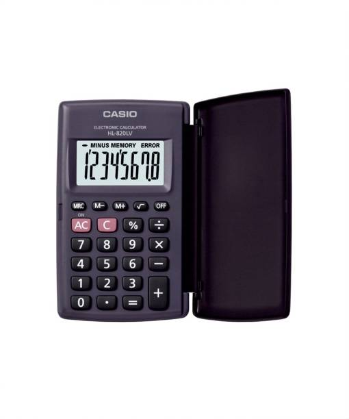 CASIO HL820LV Portable Basic  Calculator