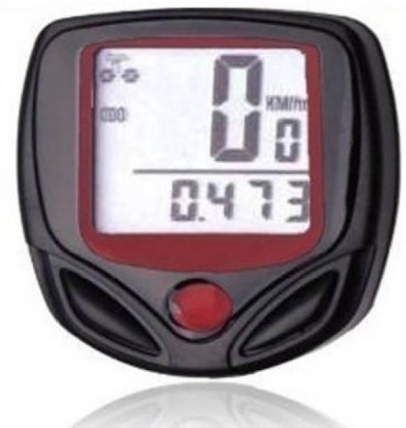 Cpixen MM-6635 Waterproof Cycling Speedometer with LCD Display Bike Wireless Cyclocomputer