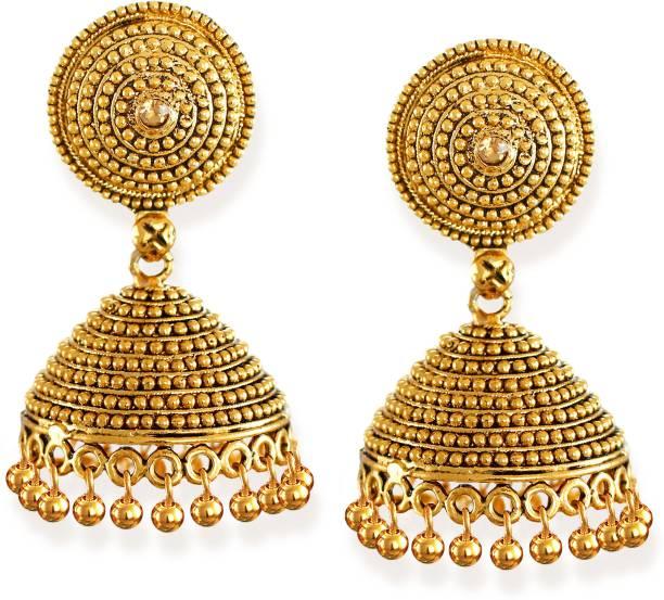 cdbc121b6 Gold Earrings- Best Gold Earring Designs For Women online on Flipkart