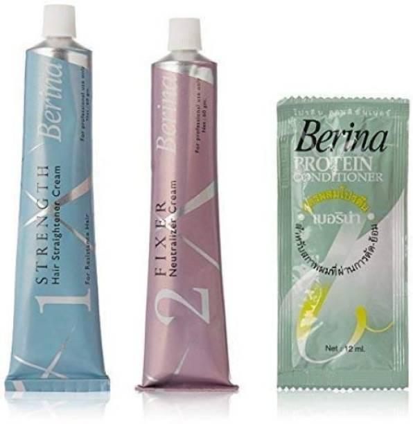 Berina Hair Straightener Cream For Resistant Hair