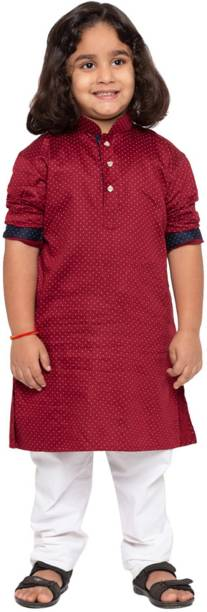 jbn CREATION Boys Festive & Party, Formal, Casual, Wedding Kurta and Pyjama Set