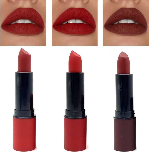 ZODAK Lip Stuck Amplified Lipstick (Pack of 3 )
