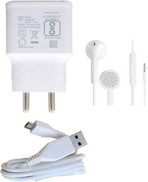 FYN Store Wall Charger Accessory Combo for Vivo V9, Vivo V7 Plus, Vivo Y71, Vivo Y81, Vivo Y71, Vivo Y83, Vivo V11, Vivo V9 Youth, Vivo Y21L, Vivo Y69, Vivo Y71i, Vivo V7, Vivo V5 Plus, Vivo Y55L, Vivo Y53, Vivo X21, Vivo Y55S, Vivo V5, Vivo Z10, Vivo V5s, Vivo Y66, Vivo Y21, Vivo Y53i, Vivo V3, Vivo Y15, Vivo V1, Vivo V11 new, Vivo Y83 Pro, Vivo Y51L, Vivo V3 Max, Vivo Y11, Vivo V1 Max, Vivo V1 Max, Vivo V9 Pro, Vivo V11 Pro