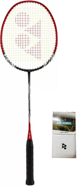 Yonex Nanoray 6000i Racquet  Color on Availability    1 Wrist Band  Assorted  Multicolor Strung Badminton Racquet