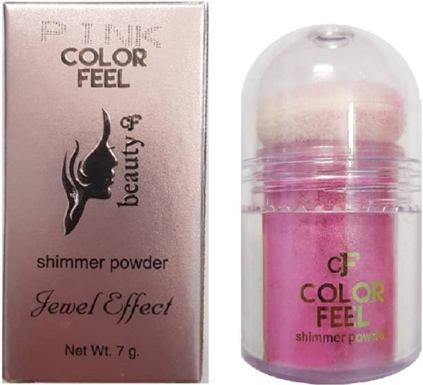 SILVI Color Feel Shimmer Powder Pink ( 1 Pc x 7 g )