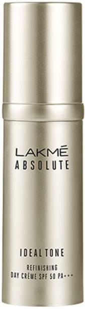 Lakmé Absolute Ideal Tone Refinishing Day Cr�me - SPF 50 PA+++