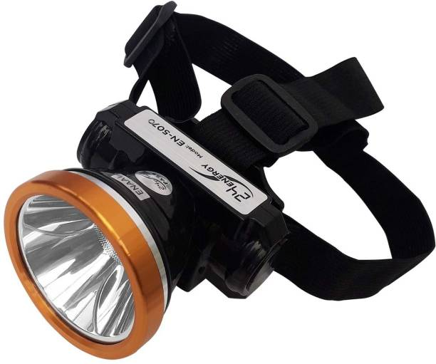 24 ENERGY 25 Watt Adjustable Laser LED Head Lamp With Charger Rechargeable Torch