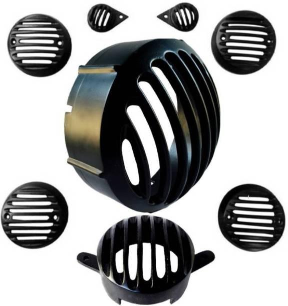 Torq CL Heavy Metal Series Bike Headlight Grill