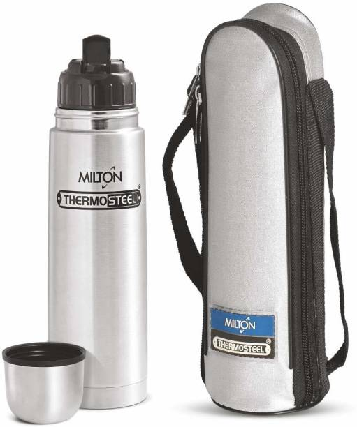 c89277abfe Milton Thermosteel Flip Lid 1000 ML Flask (24hrs Hot & 24hrs Cold) 1000 ml