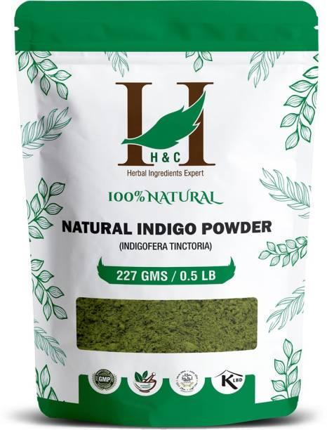 H&C 100% Natural Indigo Powder For Hair Color