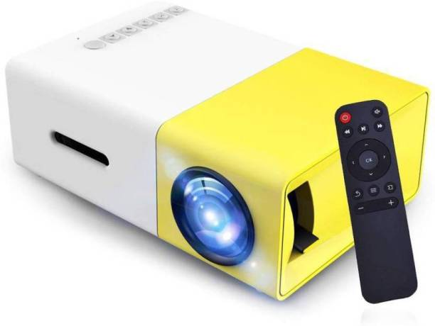 CHG 600 lm LED Corded & Cordless Mobiles Portable Projector (Multicolor (400 lm) Portable Projector