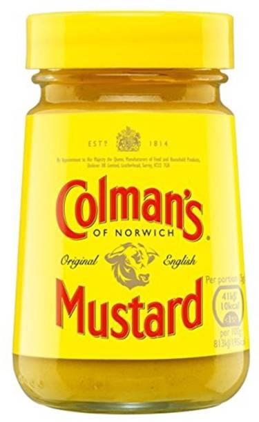 Colman's Original English Mustard - 100g Sauces
