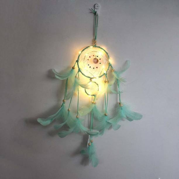 Grab Classy Dream catcher with lights Wool Dream Catcher