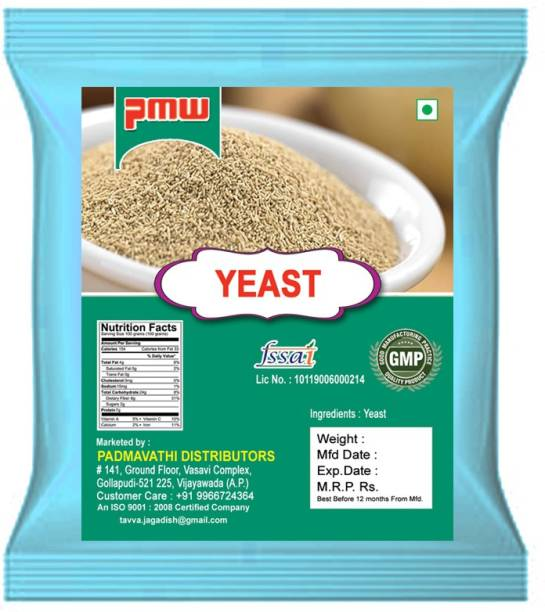 PMW Grade A Quality - Instant Active Dry Yeast - 250 Grams Yeast Powder