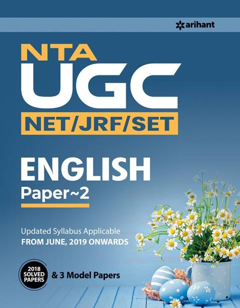 Nta UGC (Net/Jrf/Set) English Literature Paper 2 2019