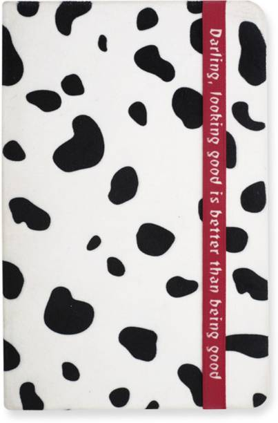 doodle Villain-Cruella Hard Bound A5 Notebook Ruled 192 Pages