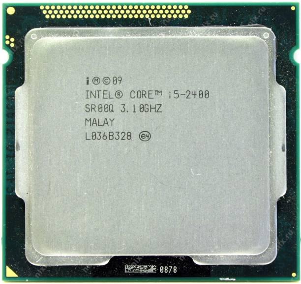 Intel Core i5-2400 3.1 GHz Upto 3.4 GHz LGA 1155 Socket 4 Cores 4 Threads 6 MB Smart Cache Desktop Processor