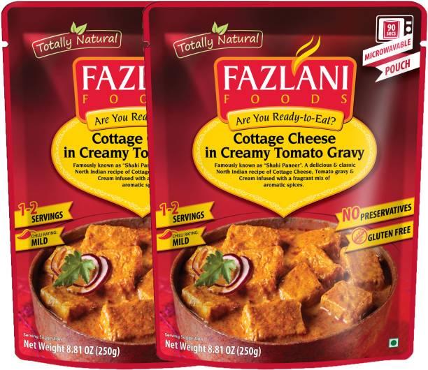 FAZLANI FOODS Shahi Paneer Curry, (Pack of 2, 250gm each) 500 g