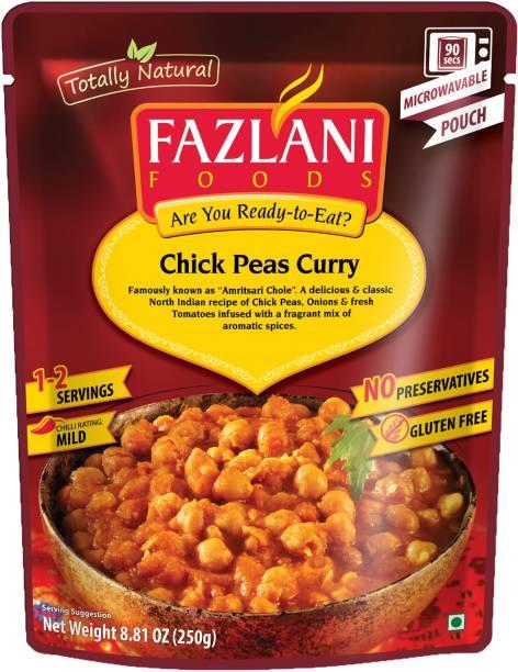FAZLANI FOODS Amritsari Chole(Chick Peas) Curry, (Pack of 1, 250gm) 250 g