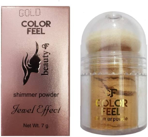 SILVI Color Feel Shimmer Powder Gold ( 1 Pc x 7 g )